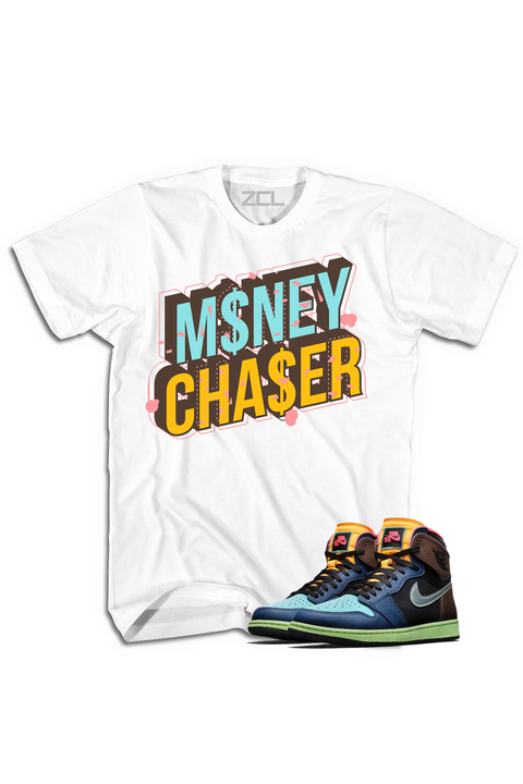 "Air Jordan 1 High OG ""Money Chaser"" Tee Bio Hack"