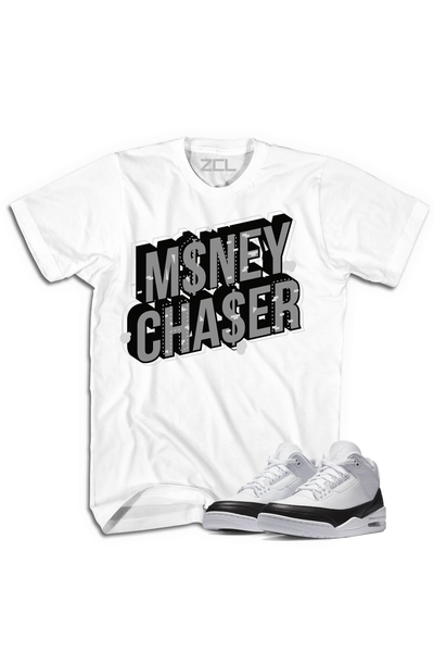 "Air Jordan 3 ""Money Chaser"" Tee Fragment - Zamage"