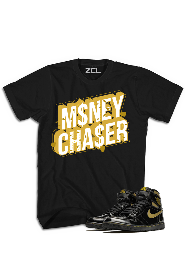 "Air Jordan 1 High OG ""Money Chaser"" Tee Metallic Gold - Zamage"