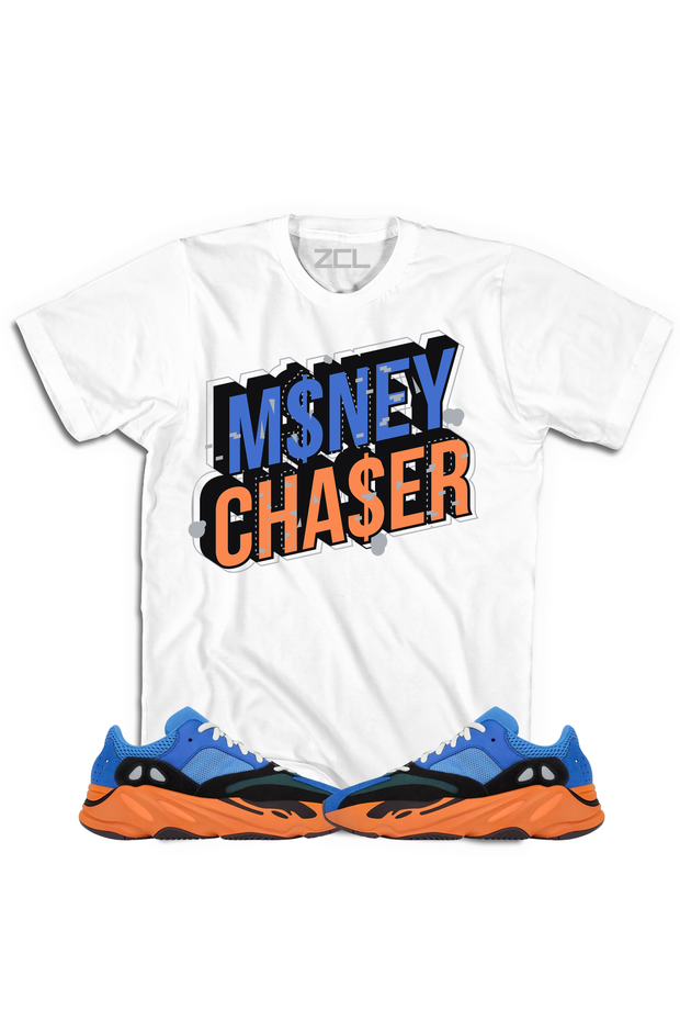 "Yeezy Boost 700 ""Money Chaser"" Tee Bright Blue"