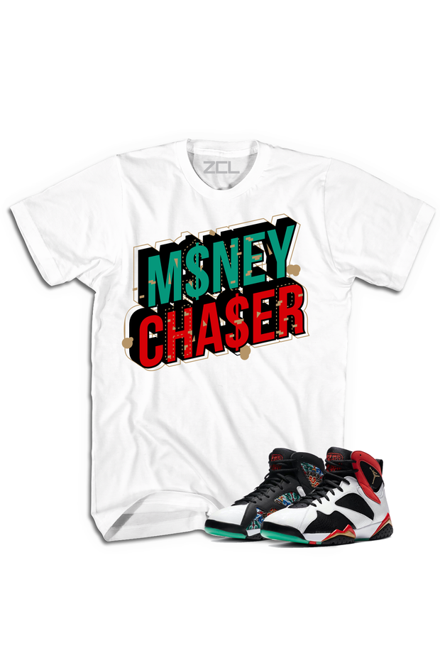 "Air Jordan 7 China ""Money Chaser"" Tee Chile Red - Zamage"