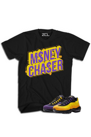 "Nike Lebron Air Max 95 ""Money Chaser"" Tee Home Team - Zamage"