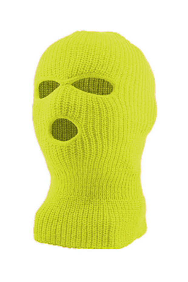 Full Face Mask Neon Yellow (SFBEAN011) - Zamage