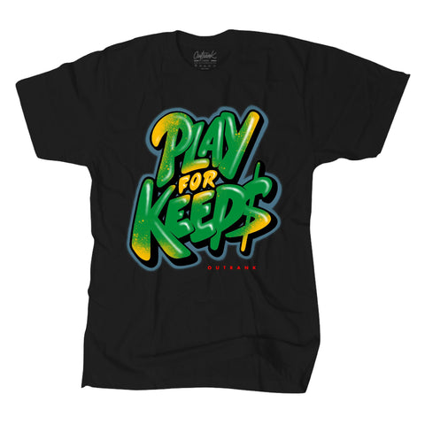 Play For Keeps Premium Tee Black (OR1279)