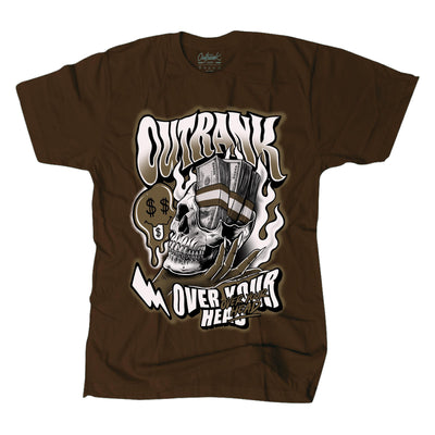 Over Your Head Premium Tee Brown (OR1314) - Zamage
