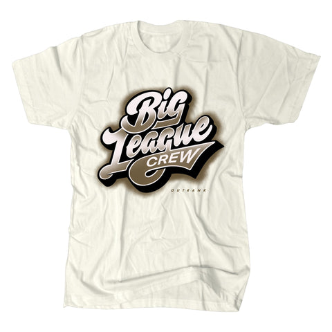 Big League Crew Premium Tee Ivory (OR1316) - Zamage