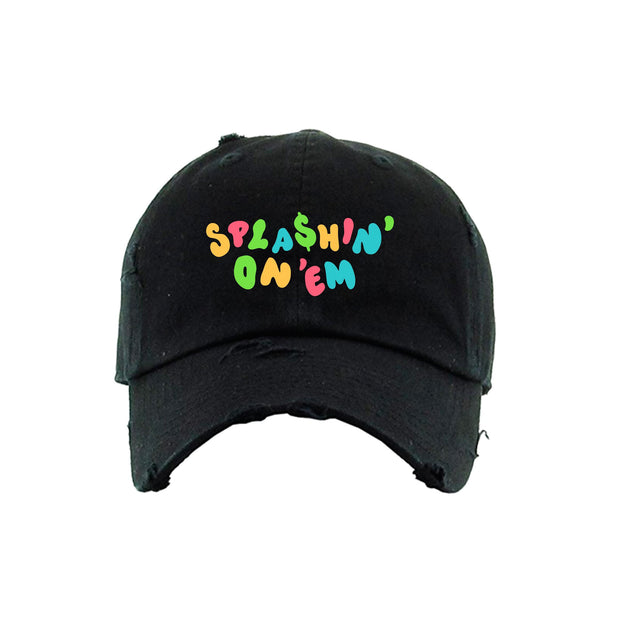 Splashin' On 'Em Strapback Hat Black (ORH187)