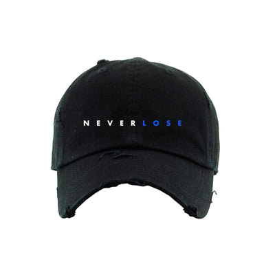 Never Lose Strapback Hat Black (ORH191)