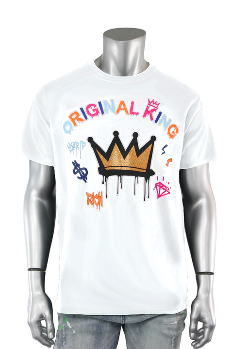 Original King Tee White (9576) - Zamage