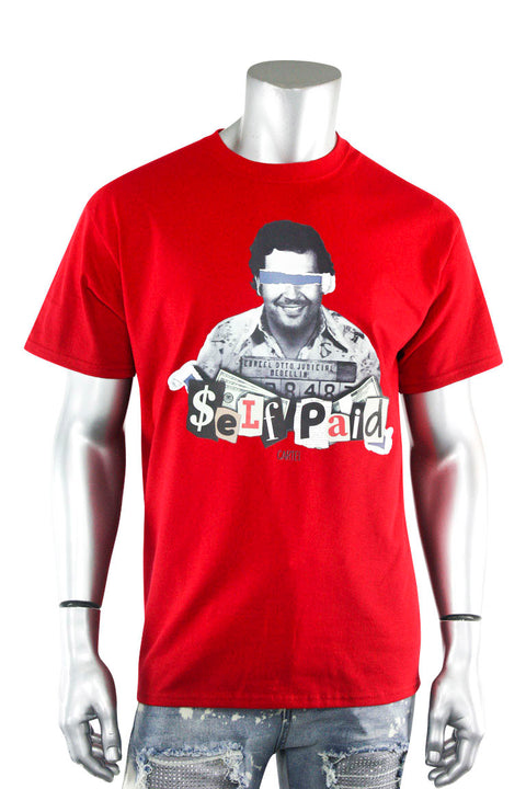 Self Paid Cartel Tee Red (DS5103) - Zamage