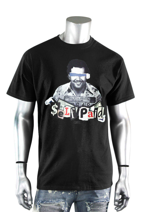 Self Paid Cartel Tee Black (DS5103) - Zamage