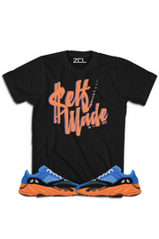 "Yeezy Boost 700 ""Self Made"" Tee Bright Blue"