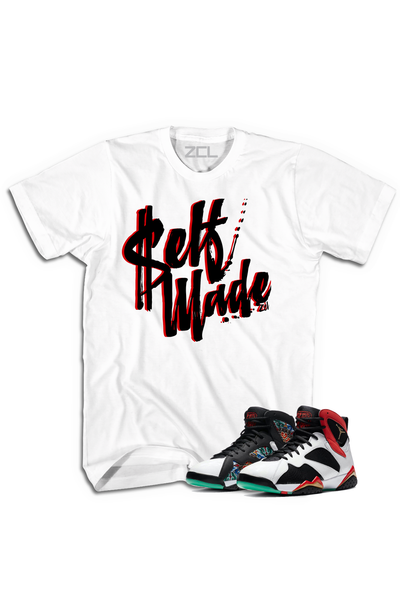 "Air Jordan 7 China ""Self Made"" Tee Chile Red - Zamage"