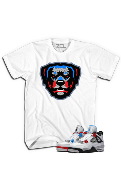 "ZCL Loyalty ""What The"" Jordan 4 HookUp  Tee White"