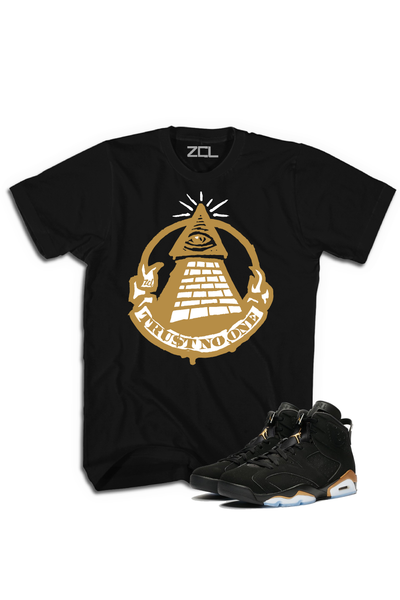"Air Jordan Retro 6 DMP Defining Moments ""Trust No One"" Tee - Zamage"