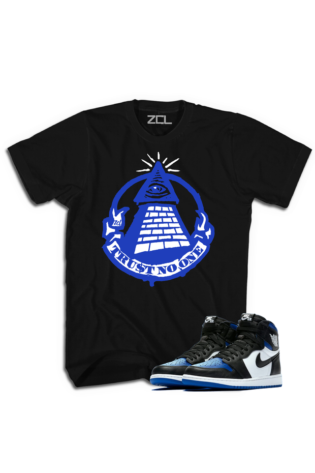 "Air Jordan 1 High OG ""Trust No One"" Tee Game Royal - Zamage"