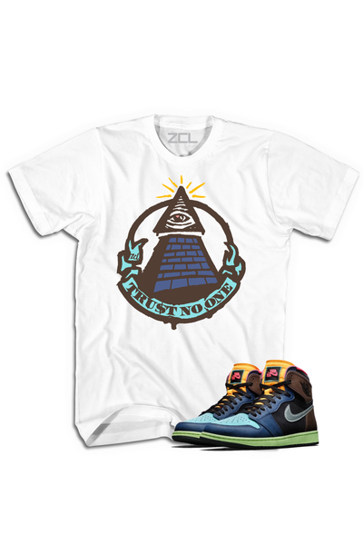"Air Jordan 1 High OG ""Trust No One"" Tee Bio Hack - Zamage"