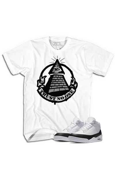 "Air Jordan 3 ""Trust No One"" Tee Fragment - Zamage"