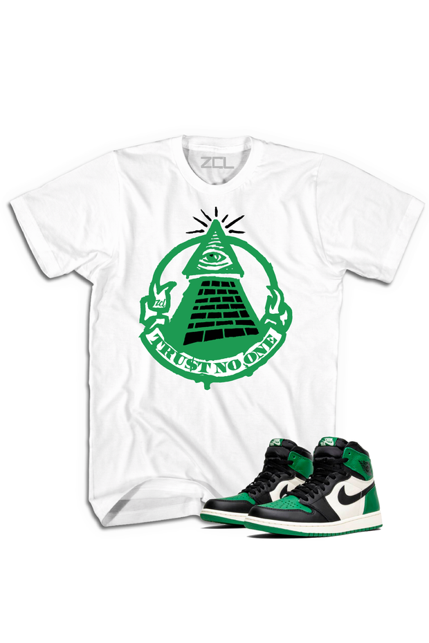 "Air Jordan Retro 1 ""Trust No One"" Tee Pine Green - Zamage"