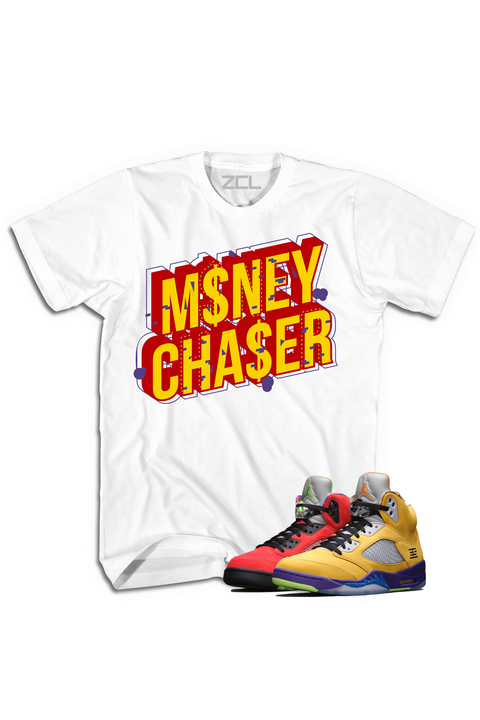"Air Jordan 5 ""Money Chaser"" Tee What The - Zamage"