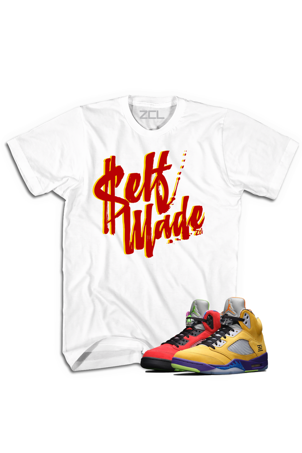 "Air Jordan 5 ""Self Made"" Tee What The - Zamage"