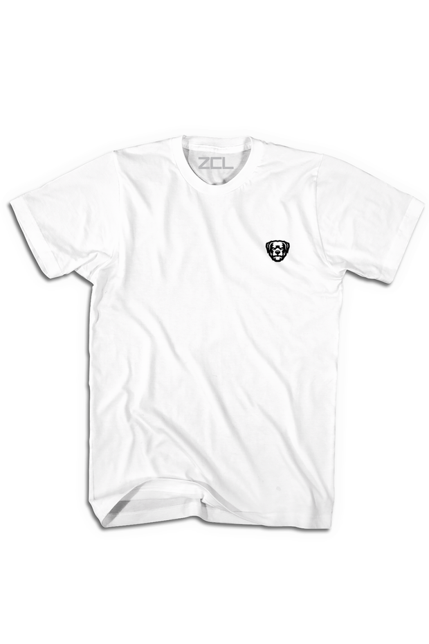 Embroidered ZCL Logo Tee White - Zamage