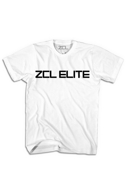 ZCL ELITE Tee White - Zamage