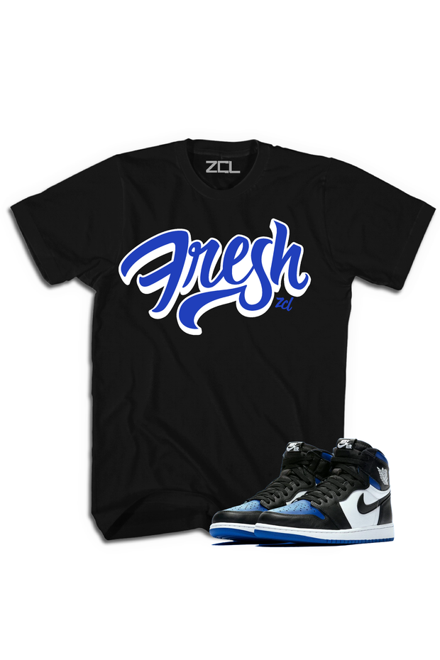 "Air Jordan 1 High OG ""Fresh"" Tee Game Royal - Zamage"