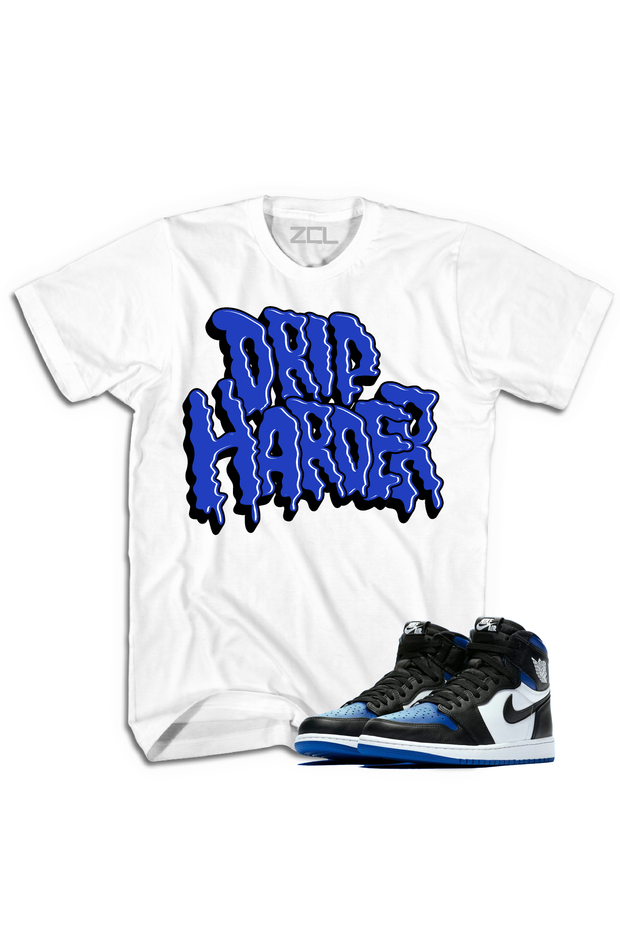 "Air Jordan 1 High OG ""Drip Harder"" Tee Game Royal - Zamage"