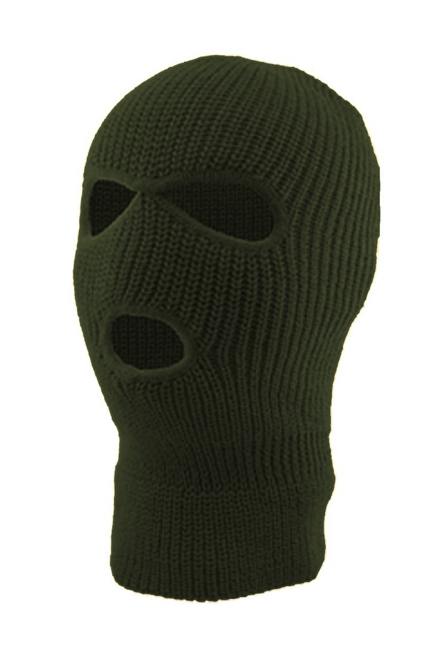 Full Face Mask Army Green (SFBEAN011) - Zamage
