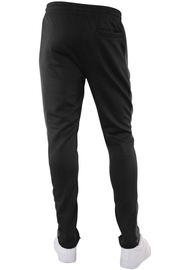 Solid One Stripe Track Pants Black - Charcoal (100-401)