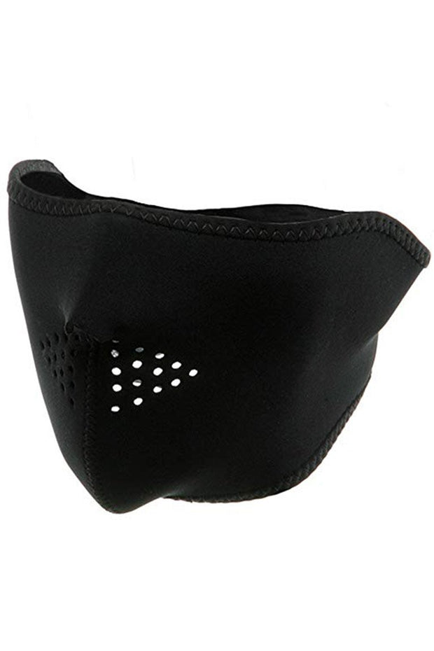 Half Face Ski Mask Black (SMASK01) - Zamage