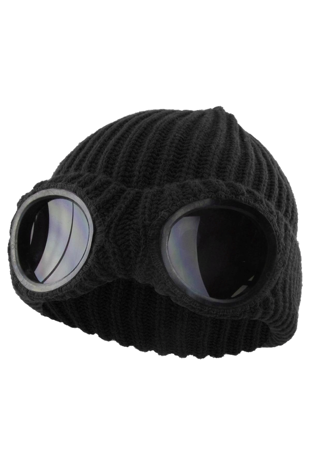 Pull Down Goggle Mask Black (GOGGLE01) - Zamage
