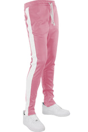 Side Stripe Track Pants Pink - White (HF9602)