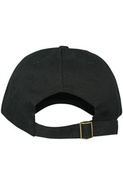 No New Friends Strapback Hat Black - Zamage