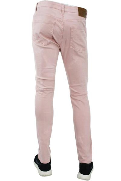 Twill Zip Skinny Fit Denim Blush (M4421TB)
