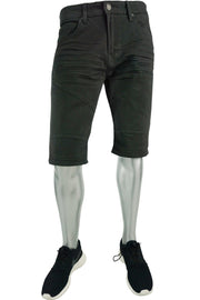 Jordan Craig Moto Denim Short Charcoal (J698S 22S) - Zamage
