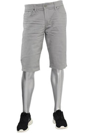 Jordan Craig Solid Color Shorts Light Grey (J708S)