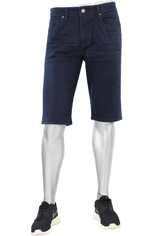 Jordan Craig Solid Color Shorts Navy (J697S 22S) - Zamage