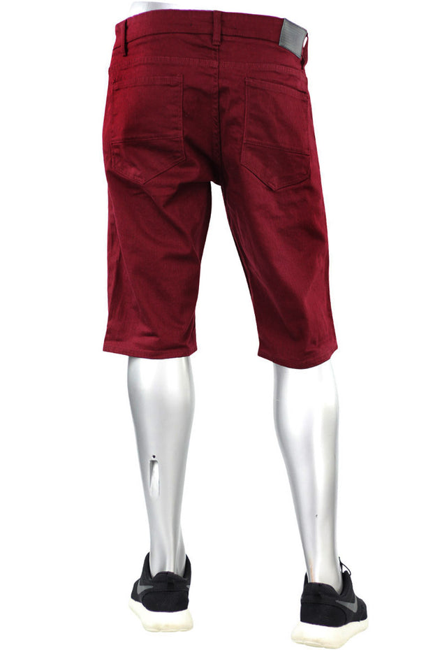 Jordan Craig Solid Color Shorts Wine (J697S 22S) - Zamage