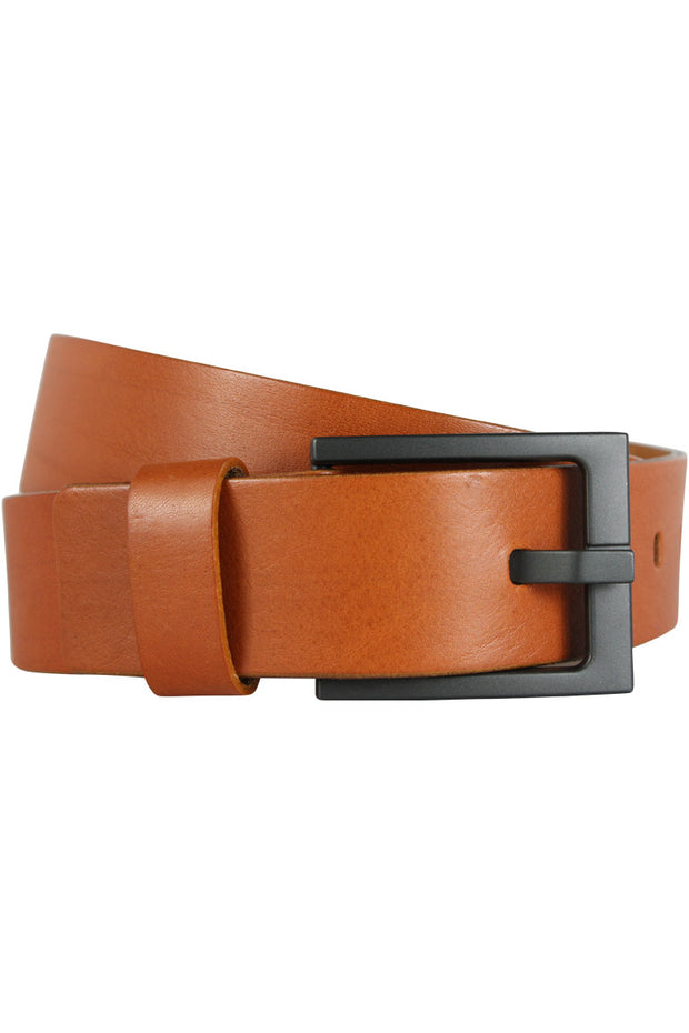 LAN Full Grain Genuine Leather Belt Tan (LA2001)