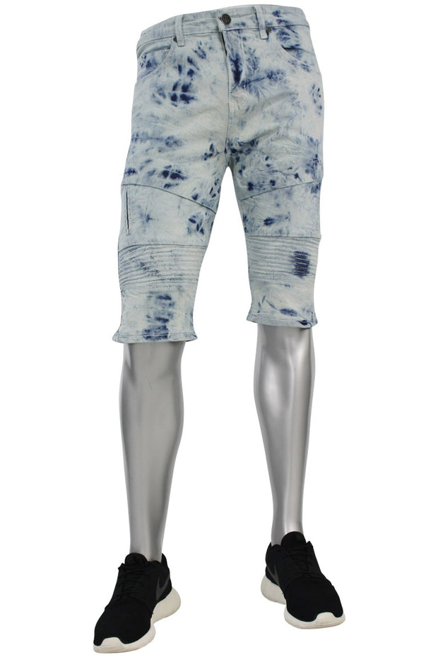 Moto Denim Shorts Tie Dye (M7118DA)