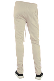 Stripe Track Pants Khaki - White (FP800)
