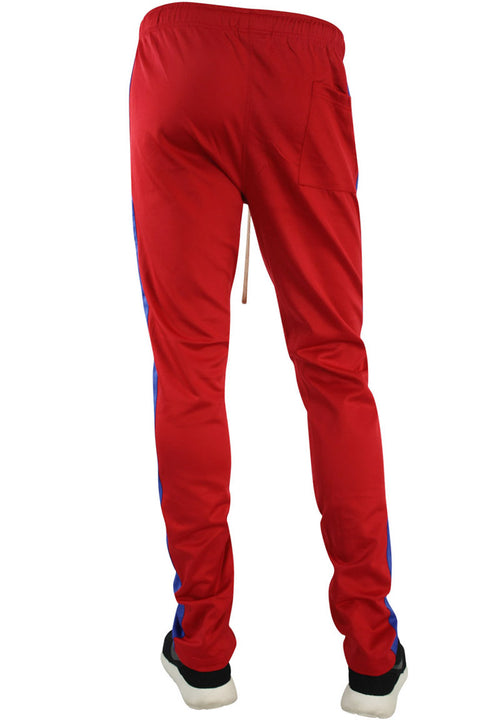 Stripe Track Pants Red - Royal (FP800)