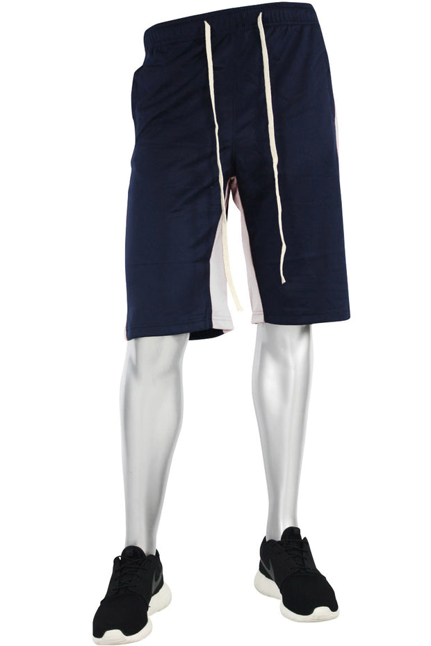 Stripe Track Shorts Navy - White (SP800 22S)