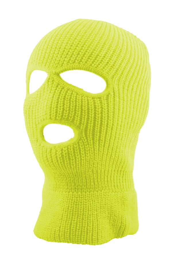 Full Face Mask Lime (SFBEAN011) - Zamage