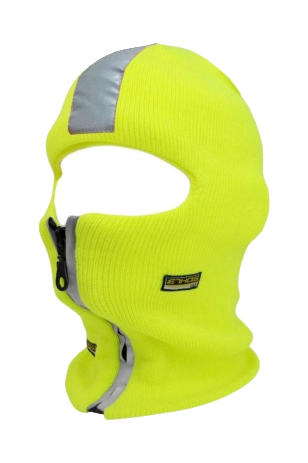 Zipper Mask Lime (SFBEAN010) - Zamage