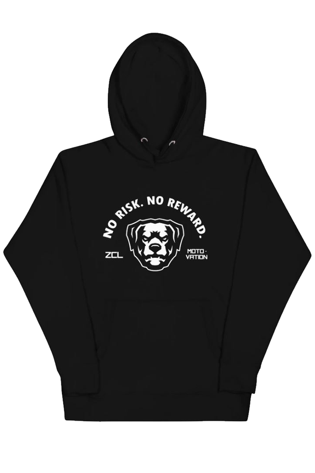 ZCL No Risk No Reward Hoodie Black - Zamage