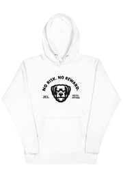 ZCL No Risk No Reward Hoodie White - Zamage