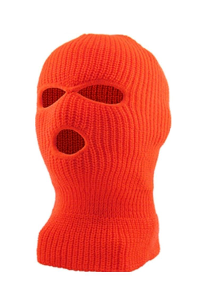 Full Face Mask Neon Orange (EFMASK) - Zamage